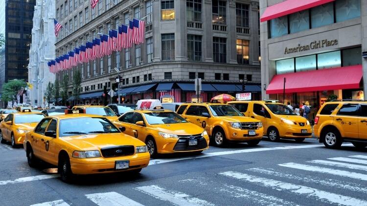 Yellow Cab, czyli nowojorskie żółte taksówki
